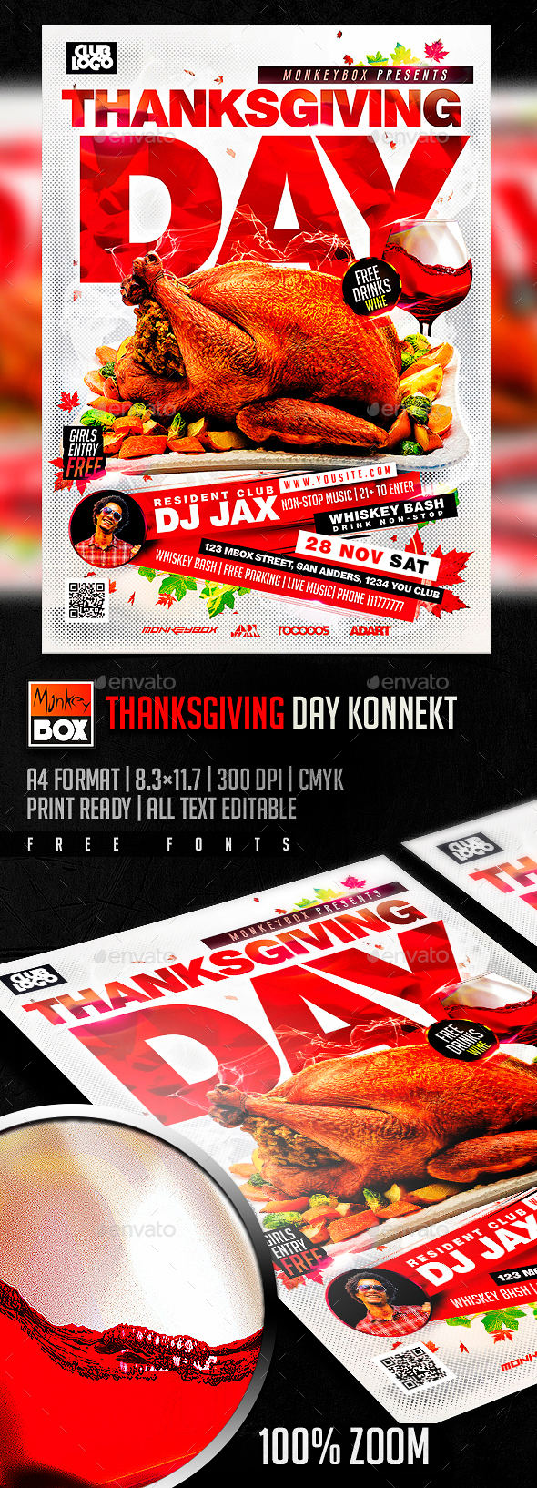 Thanksgiving Day Konnekt - Holidays Events