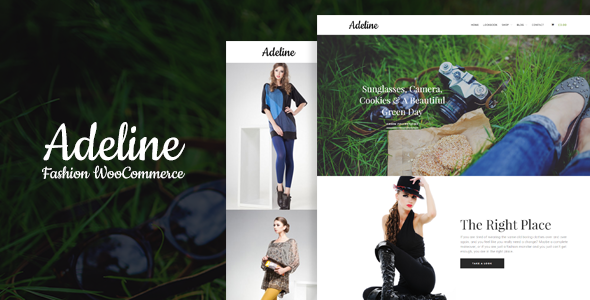 Adeline Fashion – WooCommerce Layers Theme