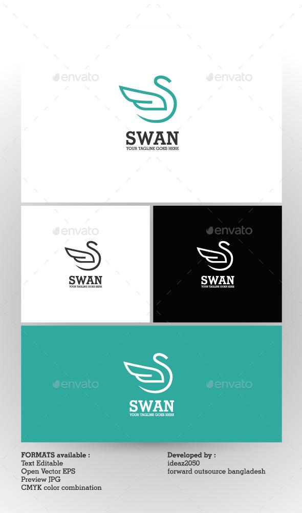 Swan Logo - Logo Templates