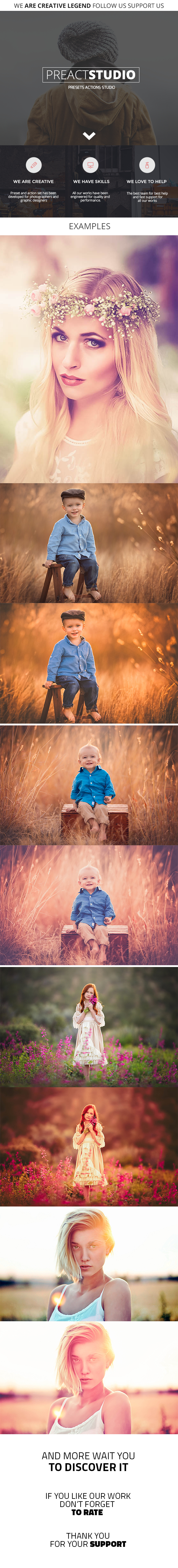 20 Pro Autumn Lightroom Presets