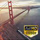 San Francisco Golden Gate Bridge Aerial - VideoHive Item for Sale