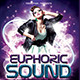 Euphoric Sound Music Flyer - GraphicRiver Item for Sale