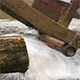 Water Mill - Water Hitting the Water Mill Wheel 5 - VideoHive Item for Sale
