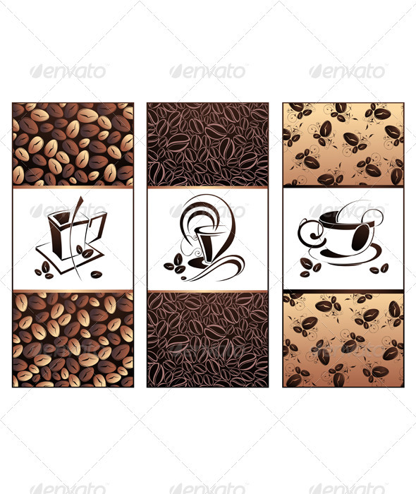 Coffee design templates - Food Objects