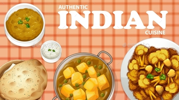 Indian Food - Food Objects
