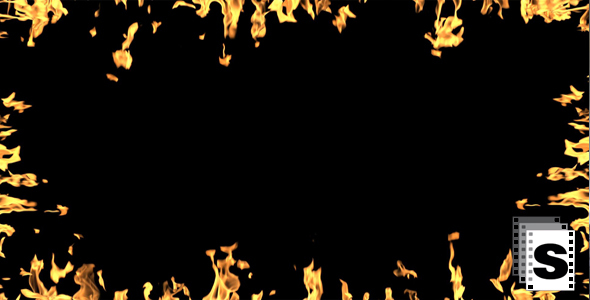 Fire Frames by stockfactory | VideoHive