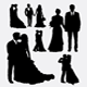 People Event Silhouettes - GraphicRiver Item for Sale