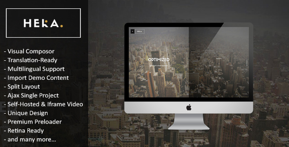 Hera - Creative Multipurpose WordPress Theme - Portfolio Creative