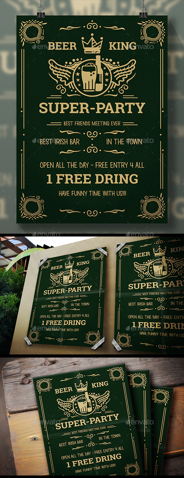Beer Party Flyer - Clubs & Parties Events