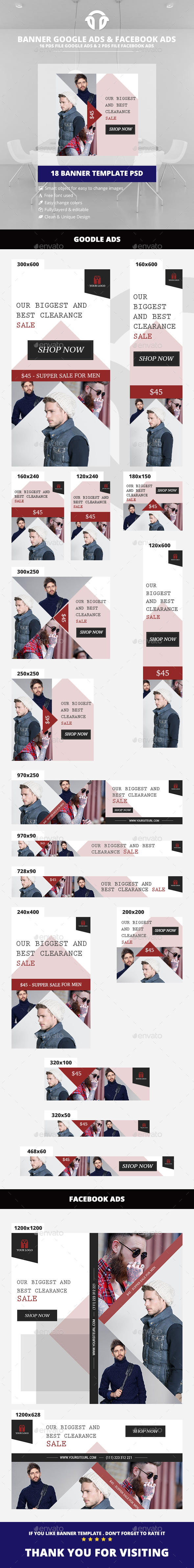 Vintage Fashion Ads - Banners & Ads Web Elements