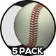 Baseball Ball - 5 Pack - VideoHive Item for Sale