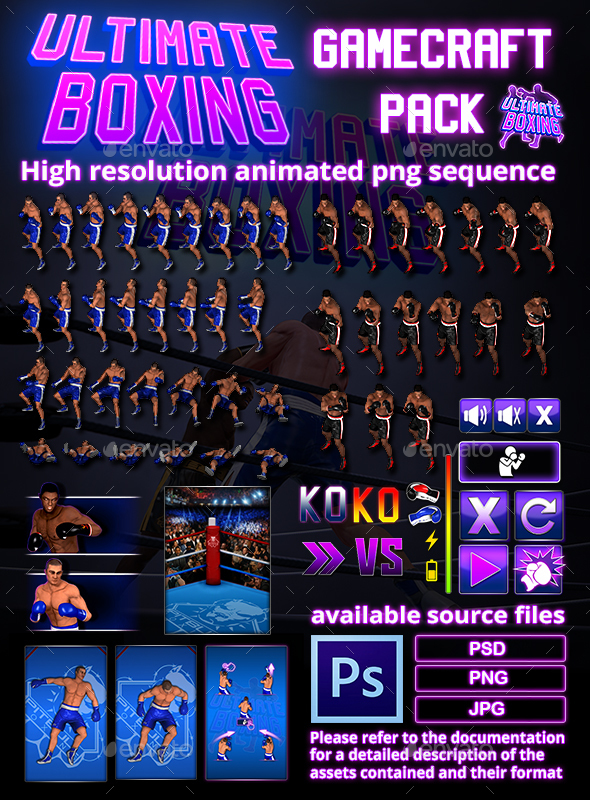 Ultimate Boxing Game Assets - Game Assets