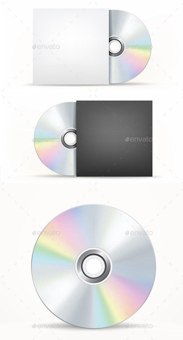 CD-DVD Disc - Miscellaneous Vectors