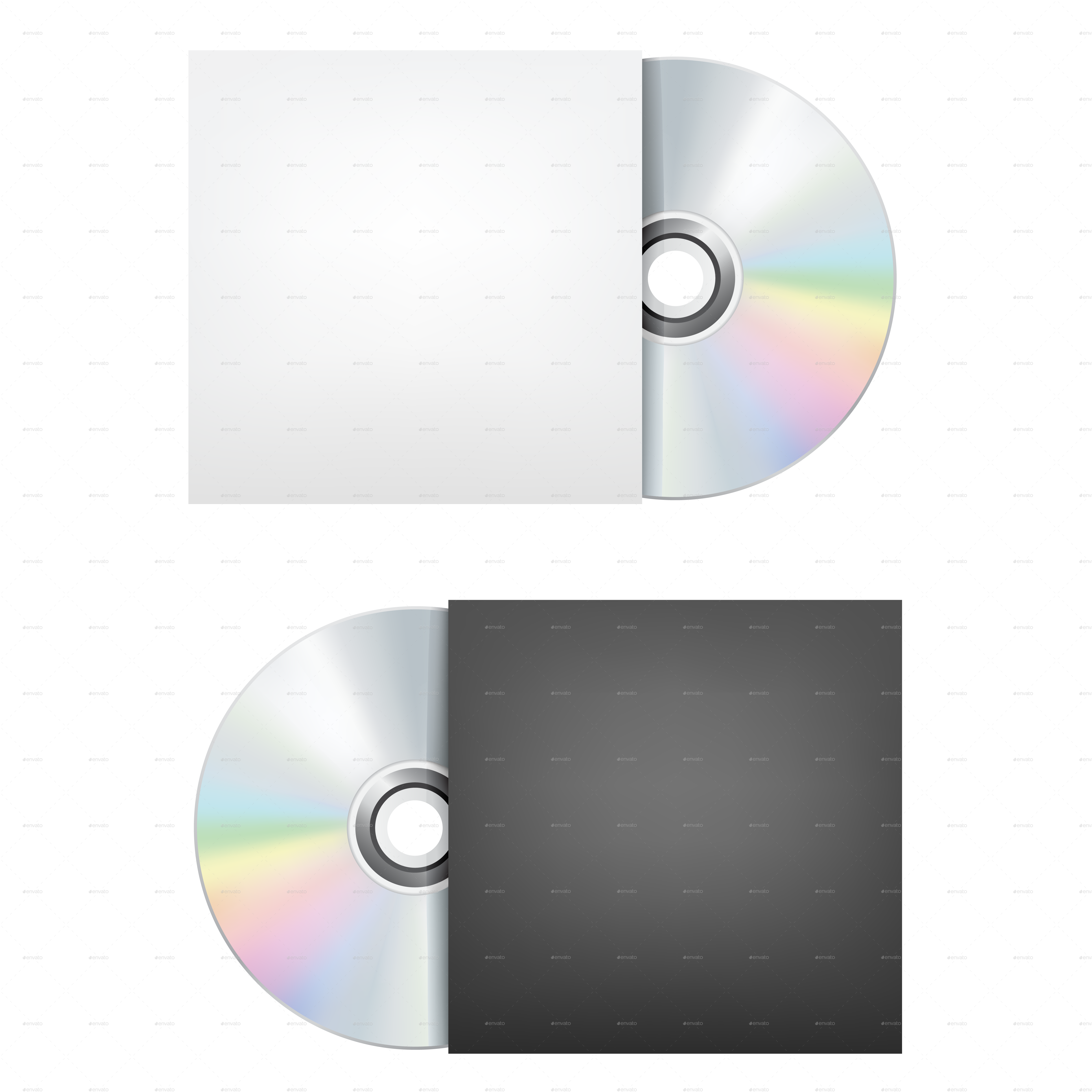 CD-DVD Disc by romvo | GraphicRiver