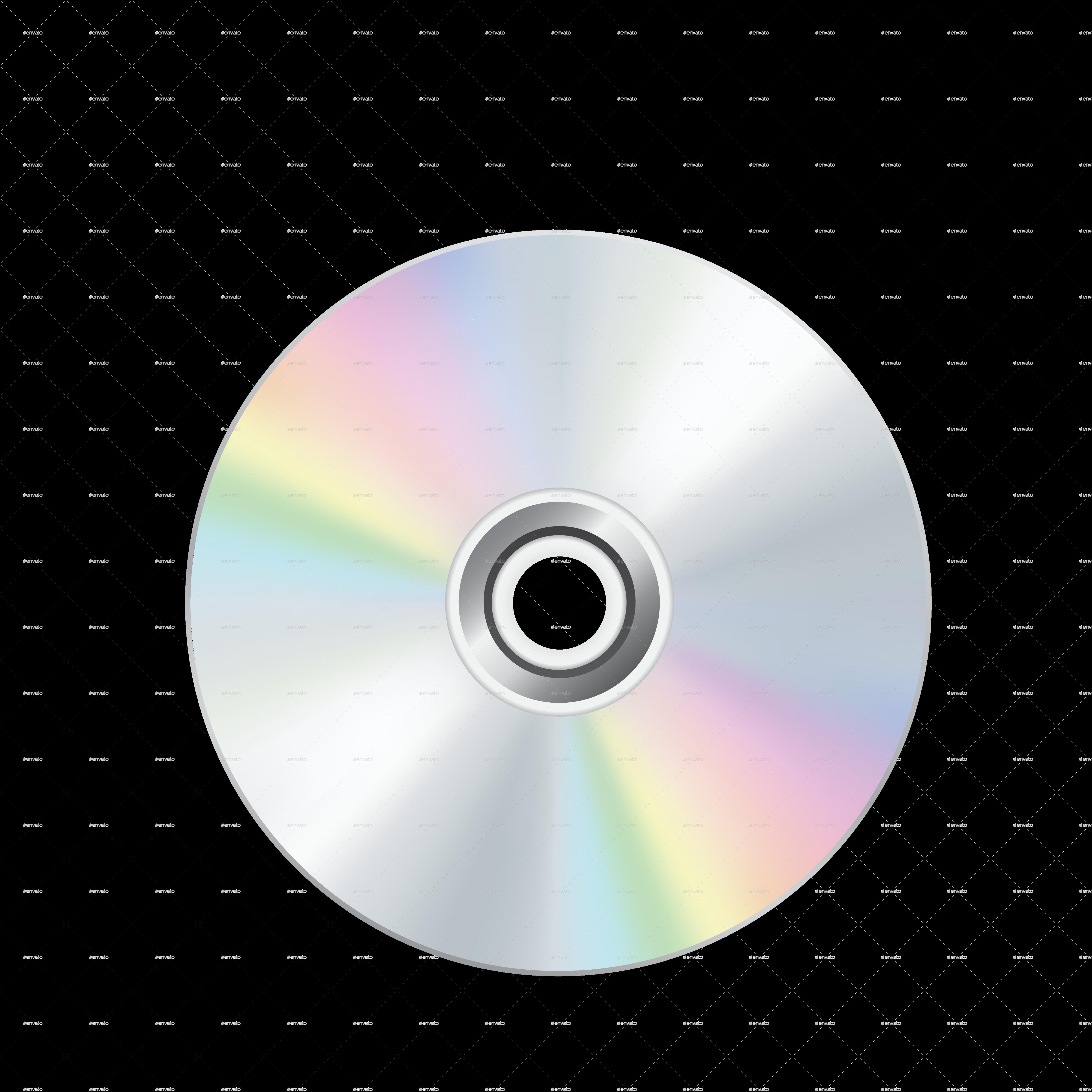 cd dvd disc by romvo graphicriver. Black Bedroom Furniture Sets. Home Design Ideas