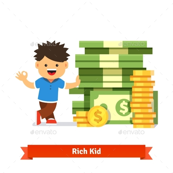 Children Savings and Finance Concept - Concepts Business