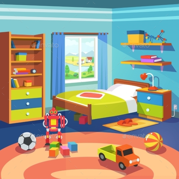 Boys Room - Man-made Objects Objects