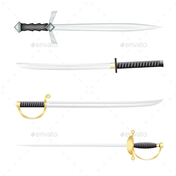 Swords - Man-made Objects Objects