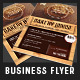Bakery House Restaurant Promotion Flyer - GraphicRiver Item for Sale