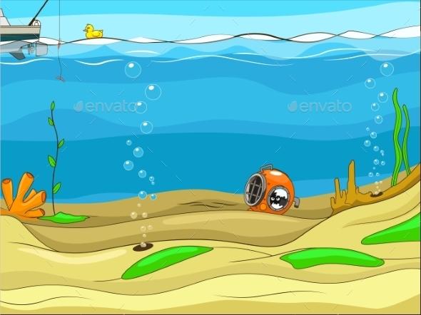 Underwater Life - Flowers & Plants Nature