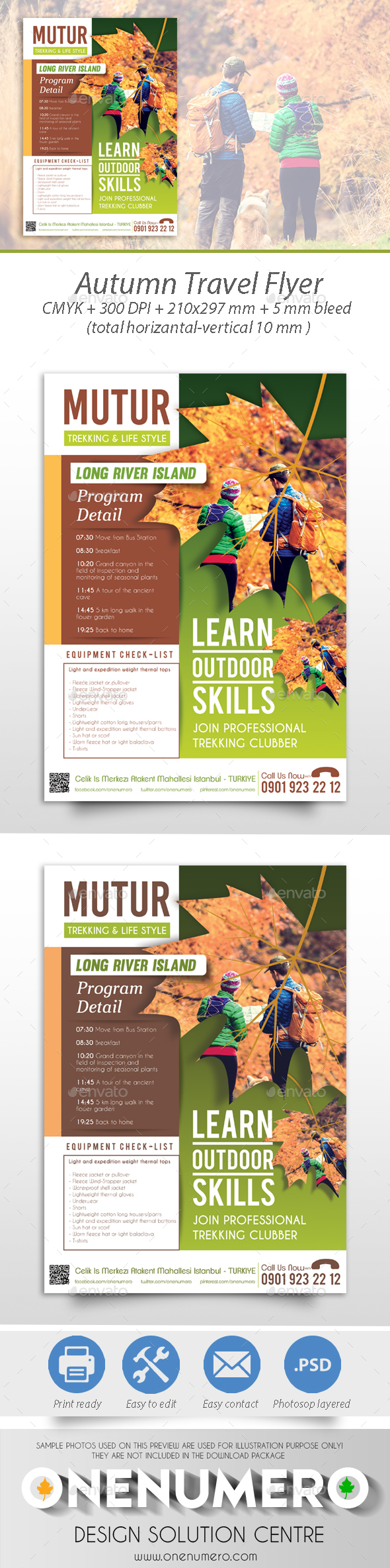 Autumn Travel Flyer - Corporate Flyers
