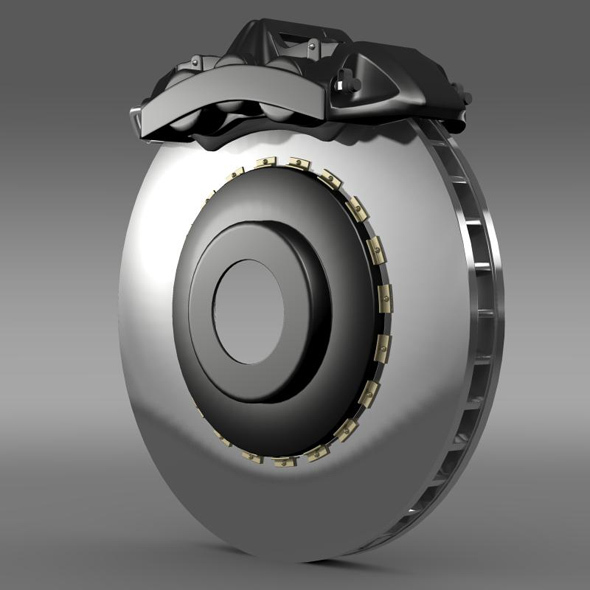 Brakedisc Brembo 2 - 3DOcean Item for Sale