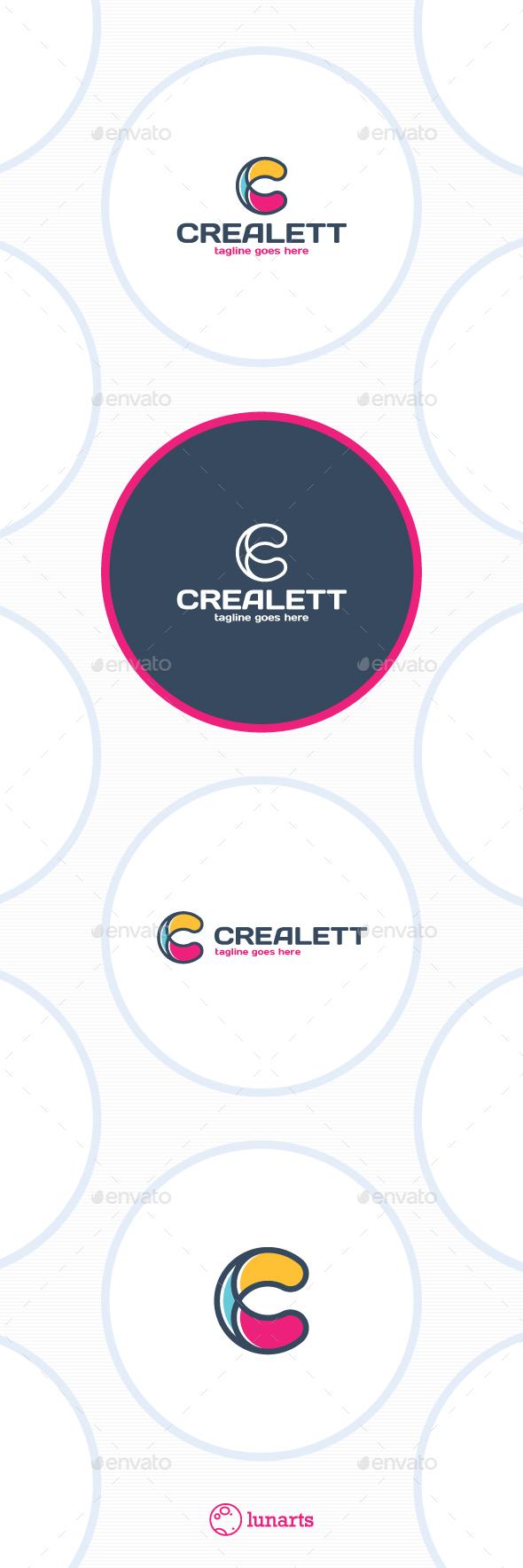 Creative Letter C Logo - Letters Logo Templates