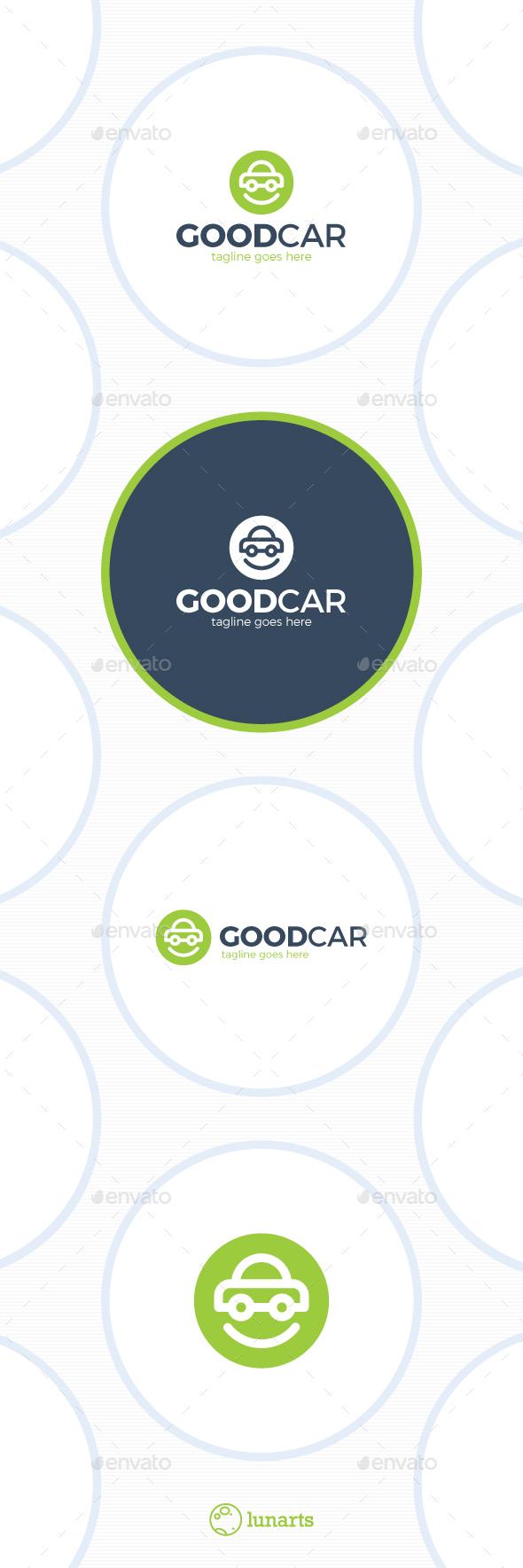 Smile Car Logo - Good Auto