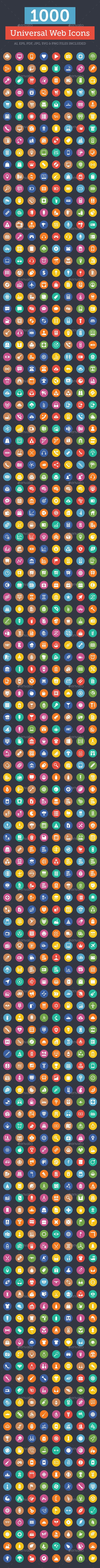 1000+ Universal Web Icons - Web Icons