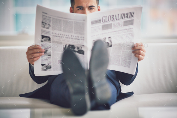 Fresh news - Stock Photo - Images
