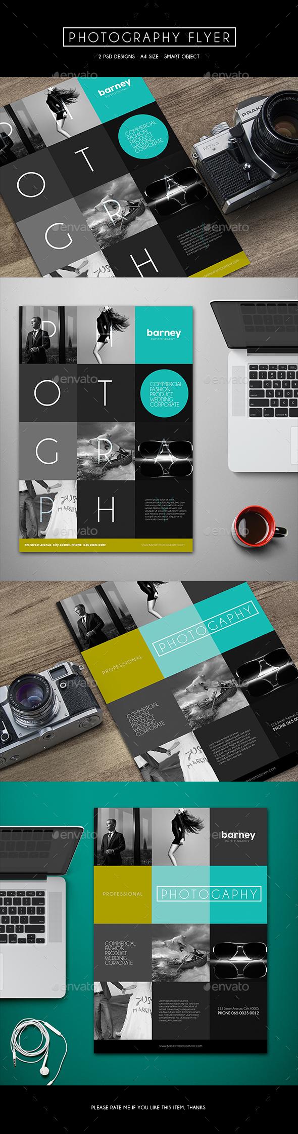 Photography Flyer - Commerce Flyers