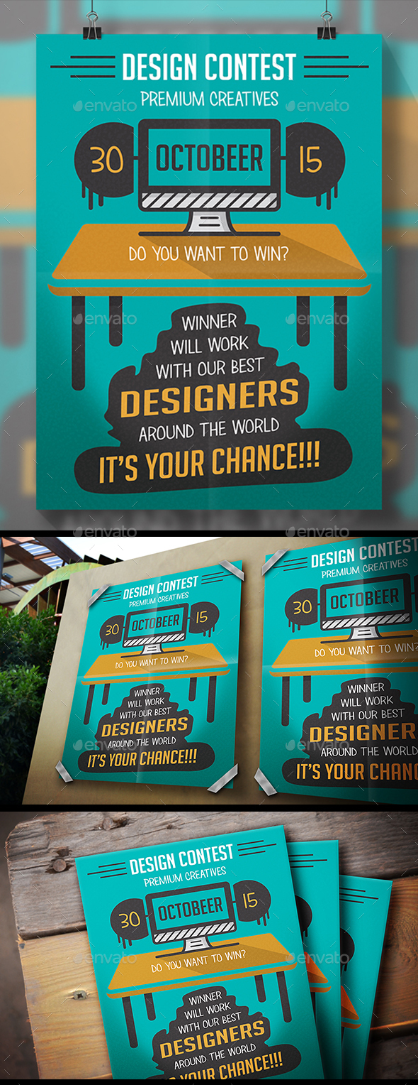 Design Contest Flyer - Miscellaneous Events