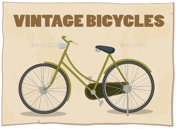 Bicycle - Objects Vectors