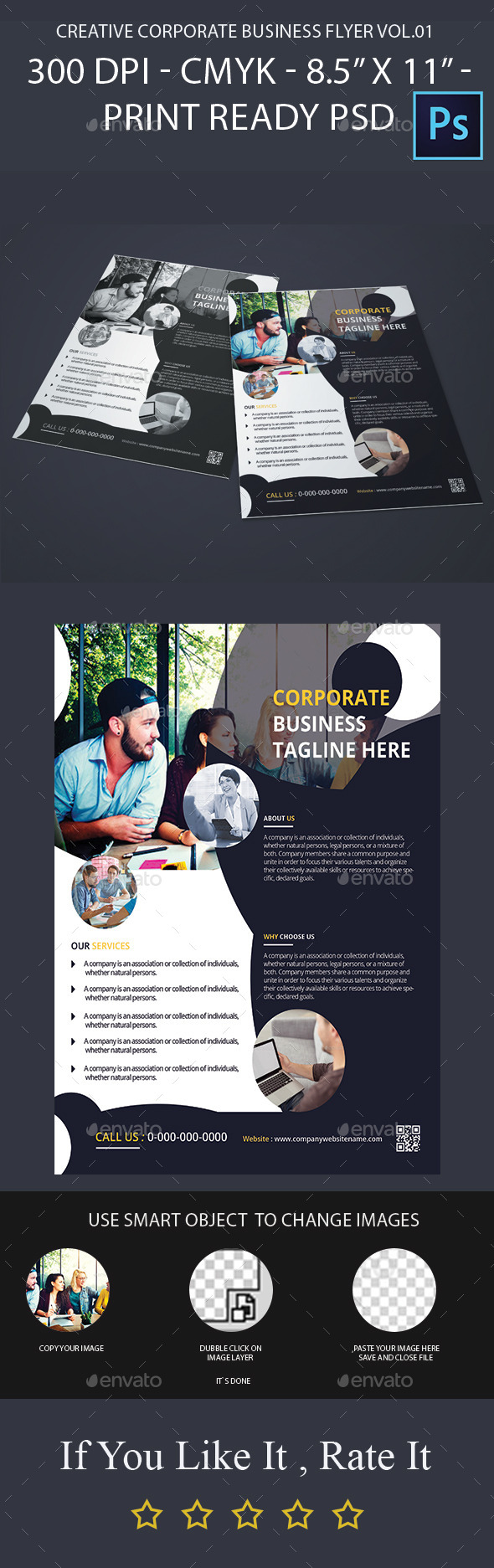 Creative Corporate Business Flyer Vol.02 - Corporate Flyers