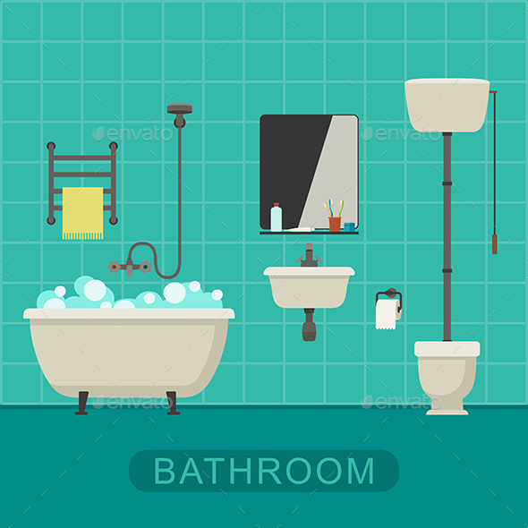 Bathroom - Man-made Objects Objects