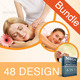 Spa & Beauty Salon Advertising Bundle | Volume 4 - GraphicRiver Item for Sale