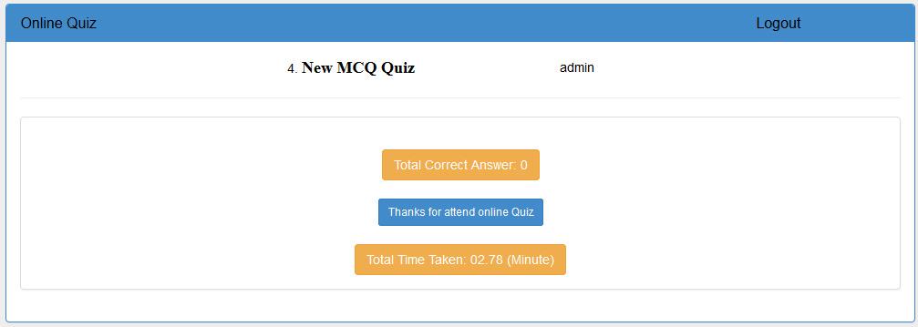 BootStrap Online Quiz AspNet C by dynamicsoft – Online Quiz Templates
