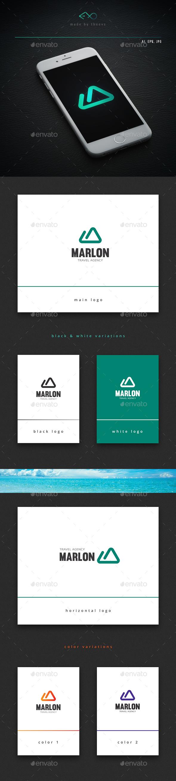 Marlon - Letters Logo Templates