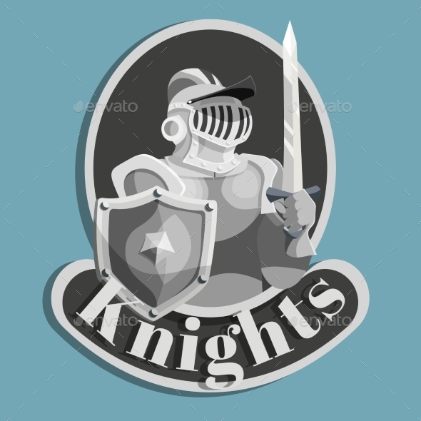 Knight Metal Emblem - Miscellaneous Vectors