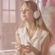 Young Woman Enjoying The Music - VideoHive Item for Sale