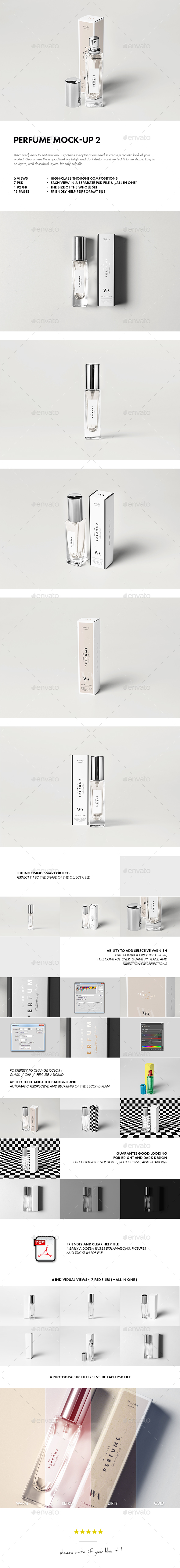 Perfume Mock-up 2 - Beauty Packaging