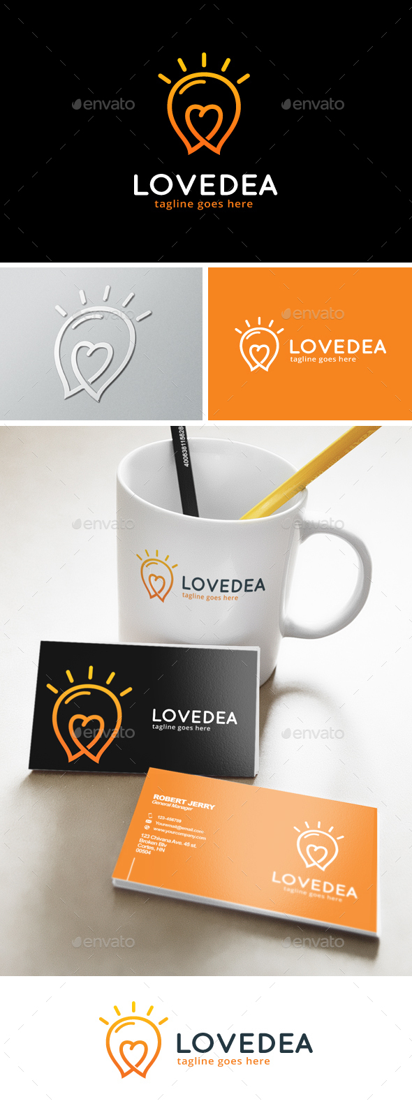 Love Idea Logo - Objects Logo Templates