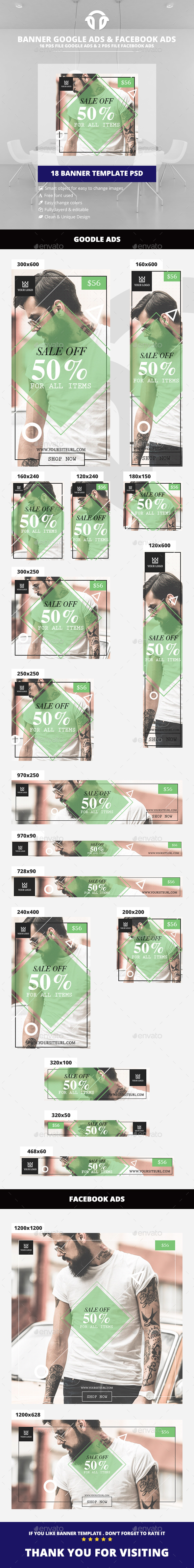 Vintage Fashion Ads - Banners & Ads Web Elements