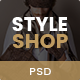 StyleShop - Multipurpose eCommerce PSD Template - ThemeForest Item for Sale