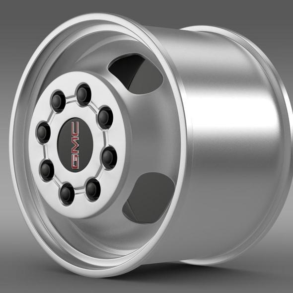 GMC Sierra 3500HD 2008 rim - 3DOcean Item for Sale