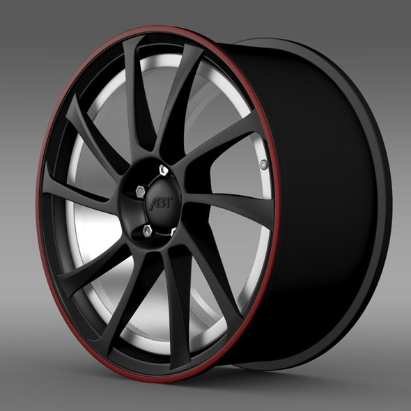 VW Beetle ABT 2012 rim - 3DOcean Item for Sale