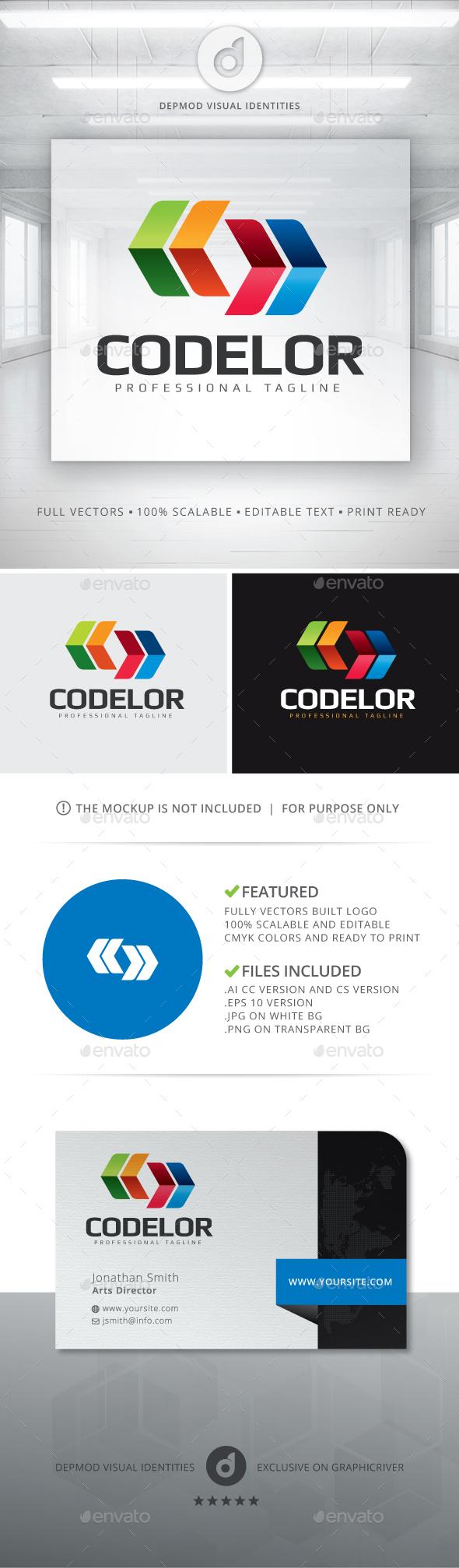 Codelor Logo - Symbols Logo Templates