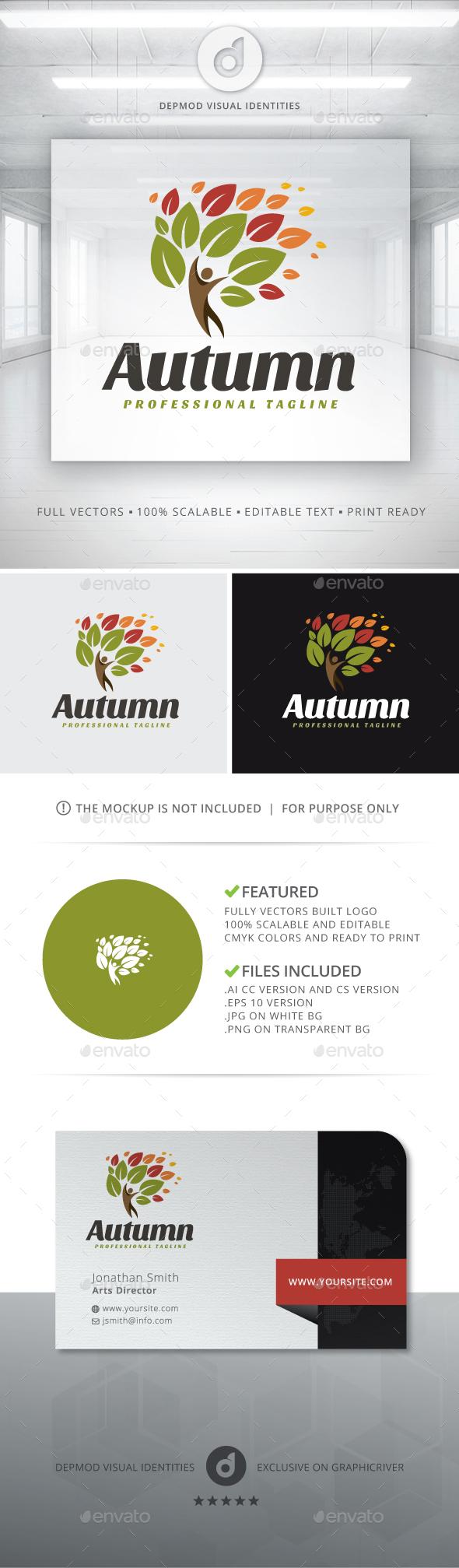 Autumn Logo - Symbols Logo Templates