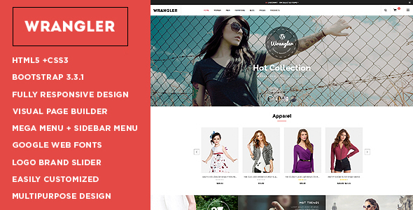 Wrangler – Multipurpose WooCommerce Theme