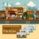 Shops Tileable Parallax - GraphicRiver Item for Sale